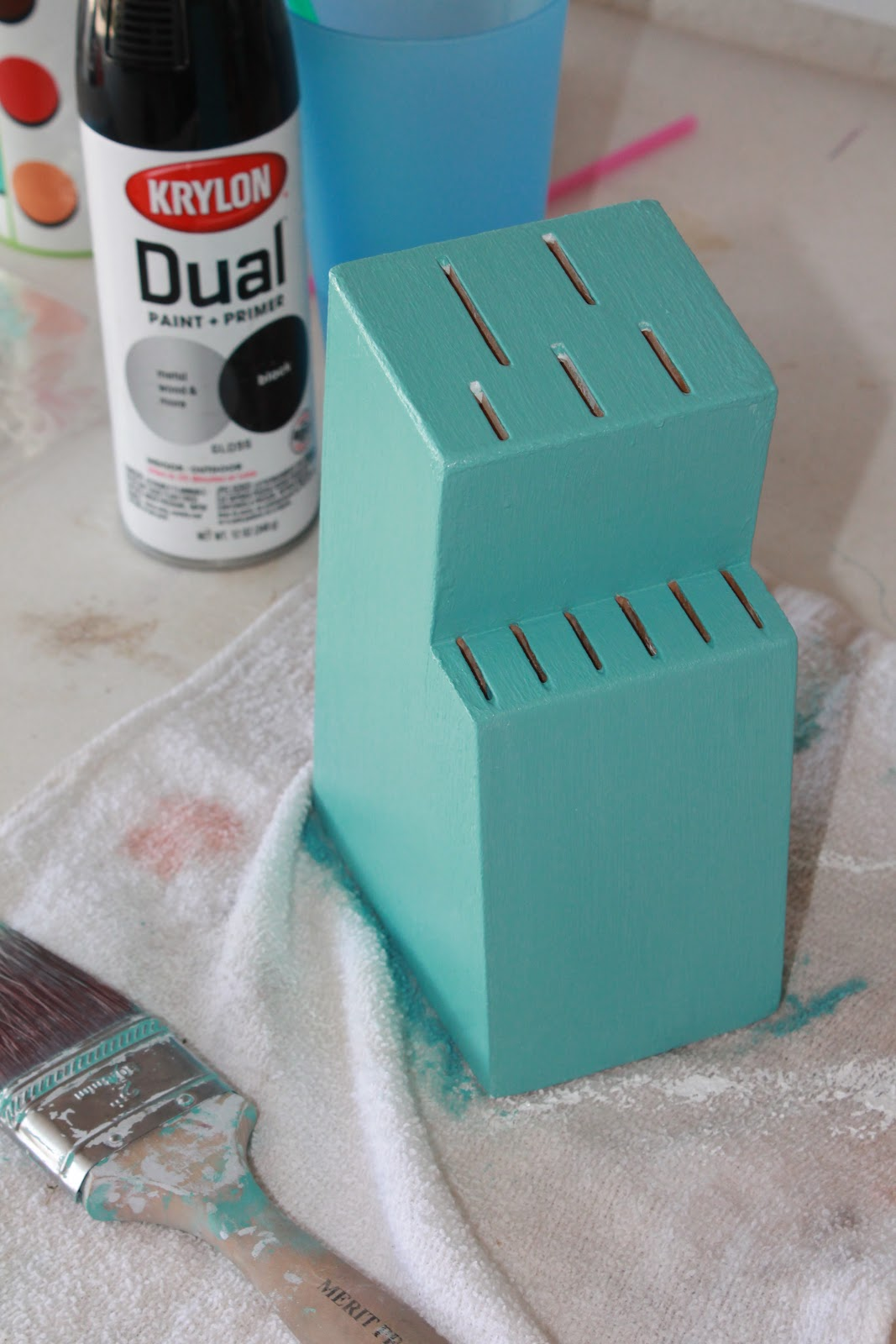 Austin Stay N Play Upcycling Old Knife Holder