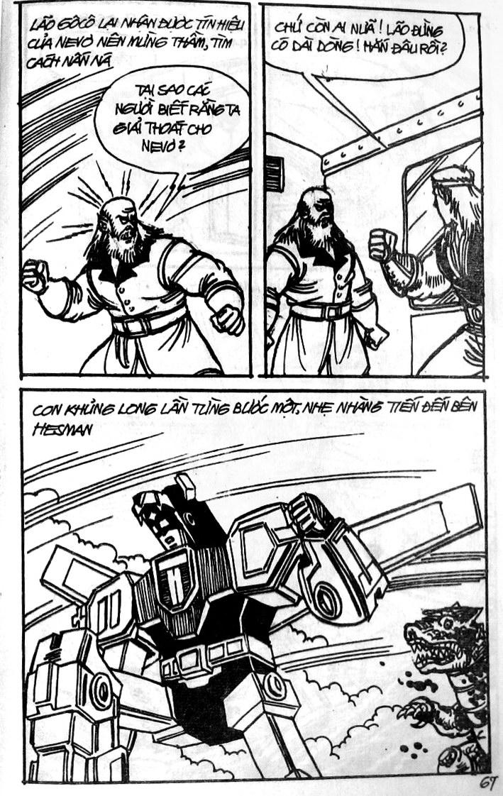 Dũng Sĩ Hesman tập 121 - chạy trốn tử thần trang 66