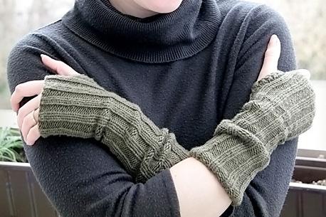 Schnell gestrickt: Armstulpen