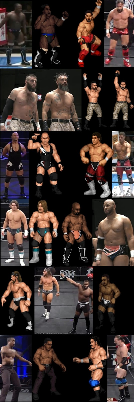 fire pro fire pro wrestling world announced wrestlingfigs com