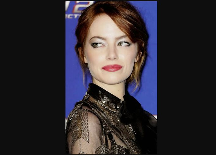emma stone green eyes