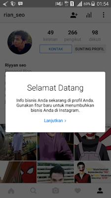 Cara Menambahkan Tombol Kontak Profil Instagram Terbaru