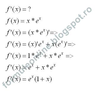 functii derivabile