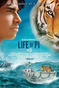 Life Of Pi 2012 Hindi - Tamil -Telugu - English Movie Download 600mb BDRip