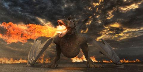 قالب افتر افكت مجاني - عرض شعار مع نار الديناصور - CS6 فأعلى