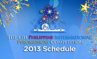 The 4TH Philippine International Pyromusical Competition.