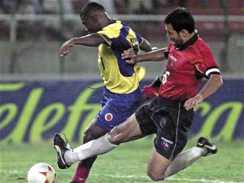 Colombia y Chile en Copa América 2001, 17 de julio