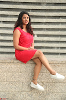 Shravya Reddy in Short Tight Red Dress Spicy Pics ~  Exclusive Pics 066.JPG