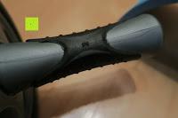 Verarbeitung: KYLIN SPORT Bauchtrainer Ab Roller Bauchmuskeltrainer Dual Wheel Ab-Wheel mit Knie Pad