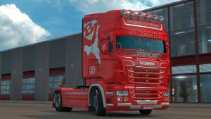 Passion For Power skin for Scania RJL