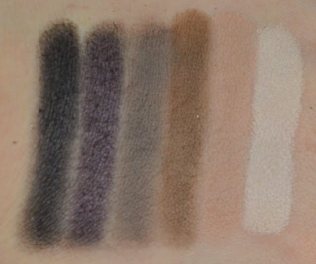 Naked smokey - Palette - eyeshadow - urban decay - swatches - review - matte - shimmer - satin - smokey eye - make up