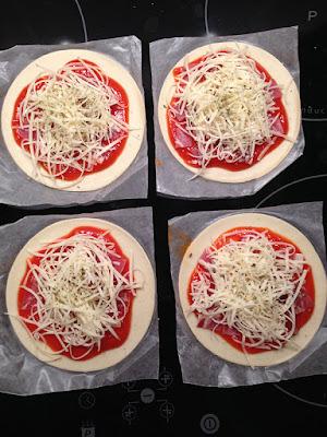 Minipizza preparada