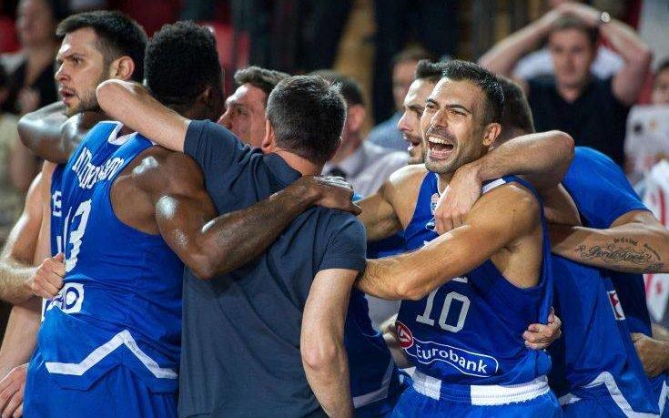 Η Ελλάδα επικράτησε με 85 - 86 της Γεωργία και πάει στο Παγκόσμιο Κύπελλο 2019 στην Κίνα
