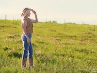 Country Girl Women Summer Portrait