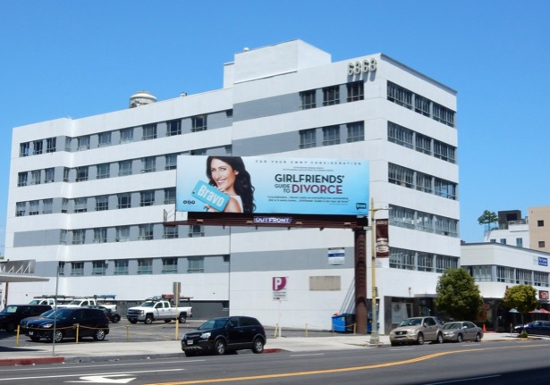 Girlfriends Guide to Divorce Emmy FYC billboard