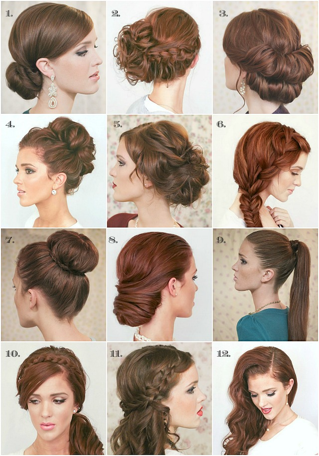 The Freckled Fox Last Minute New Years Eve Hairstyle Inspiration