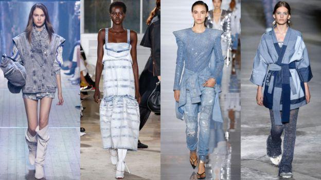 тренд на джинсовую одежду