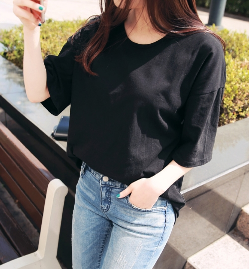 Oversized Half Sleeve T-Shirt