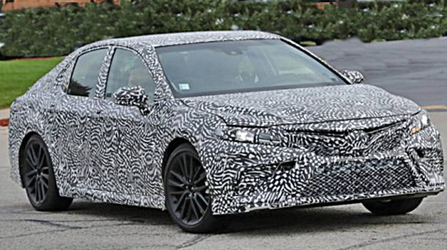 Toyota Teases All-New 2018 Camry Ahead Of Detroit Auto Show