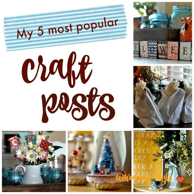 5 most popular craft posts