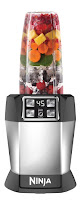 Nutri Ninja Auto iQ BL482, makes nutritious juices, smoothies and purees, 1000 watt motor, blends whole fruits vegetables seeds & ice