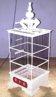 harga kandang Sangkar Pleci Kayu Jati