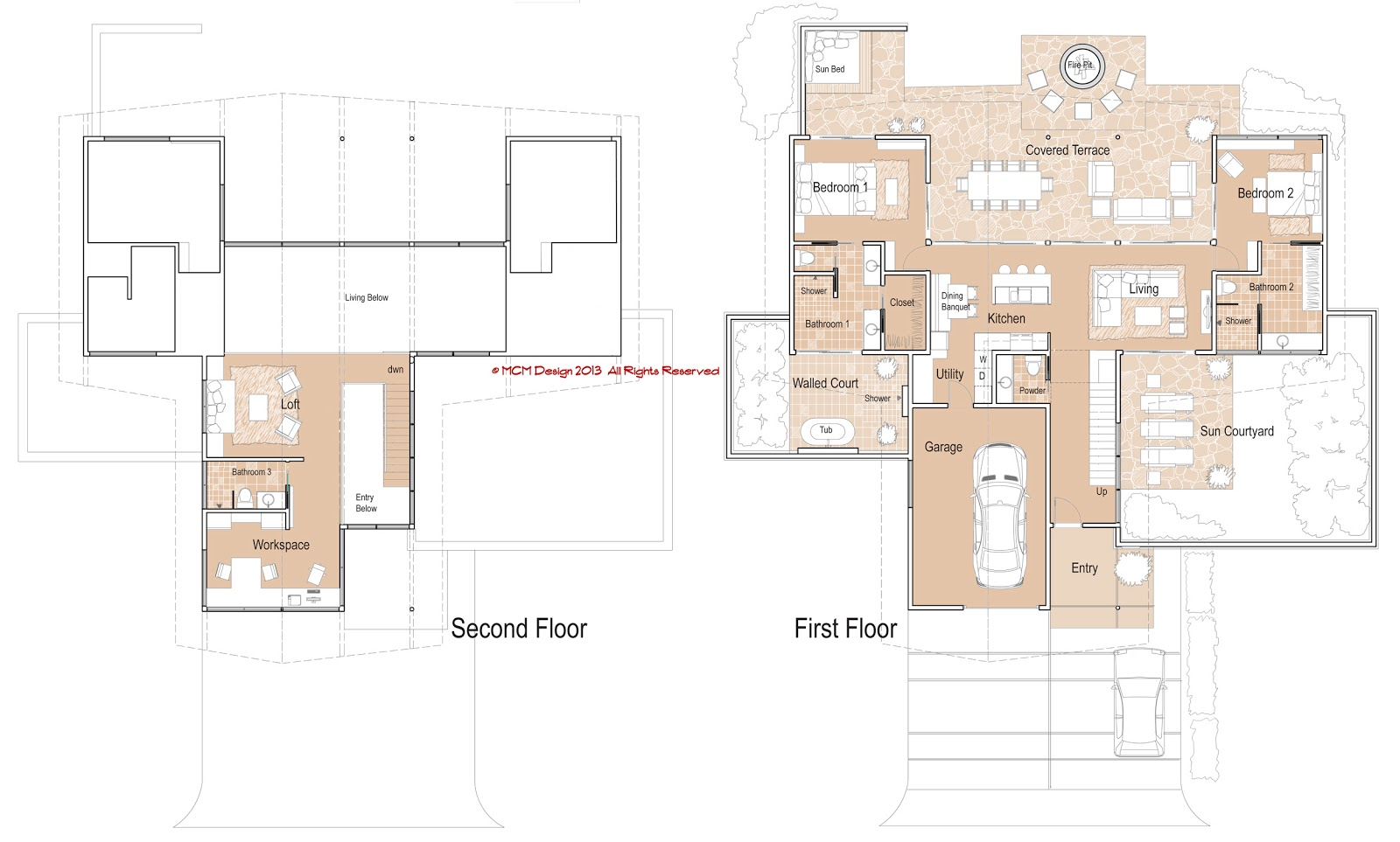 Small Modern House Plans With Loft Home Mansion