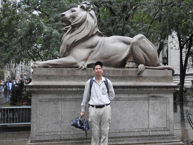 אריה הספריה הציבורית של ניו יורק
