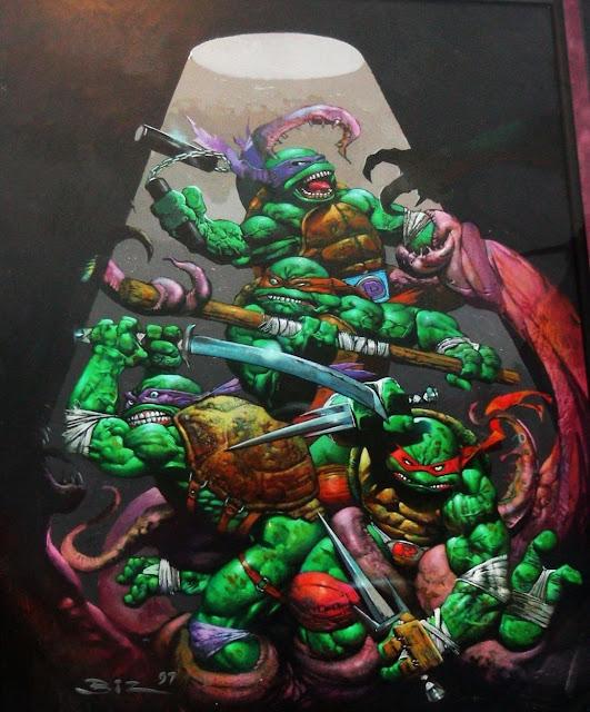 Heróis e Anti-Hérois por Simon Bisley