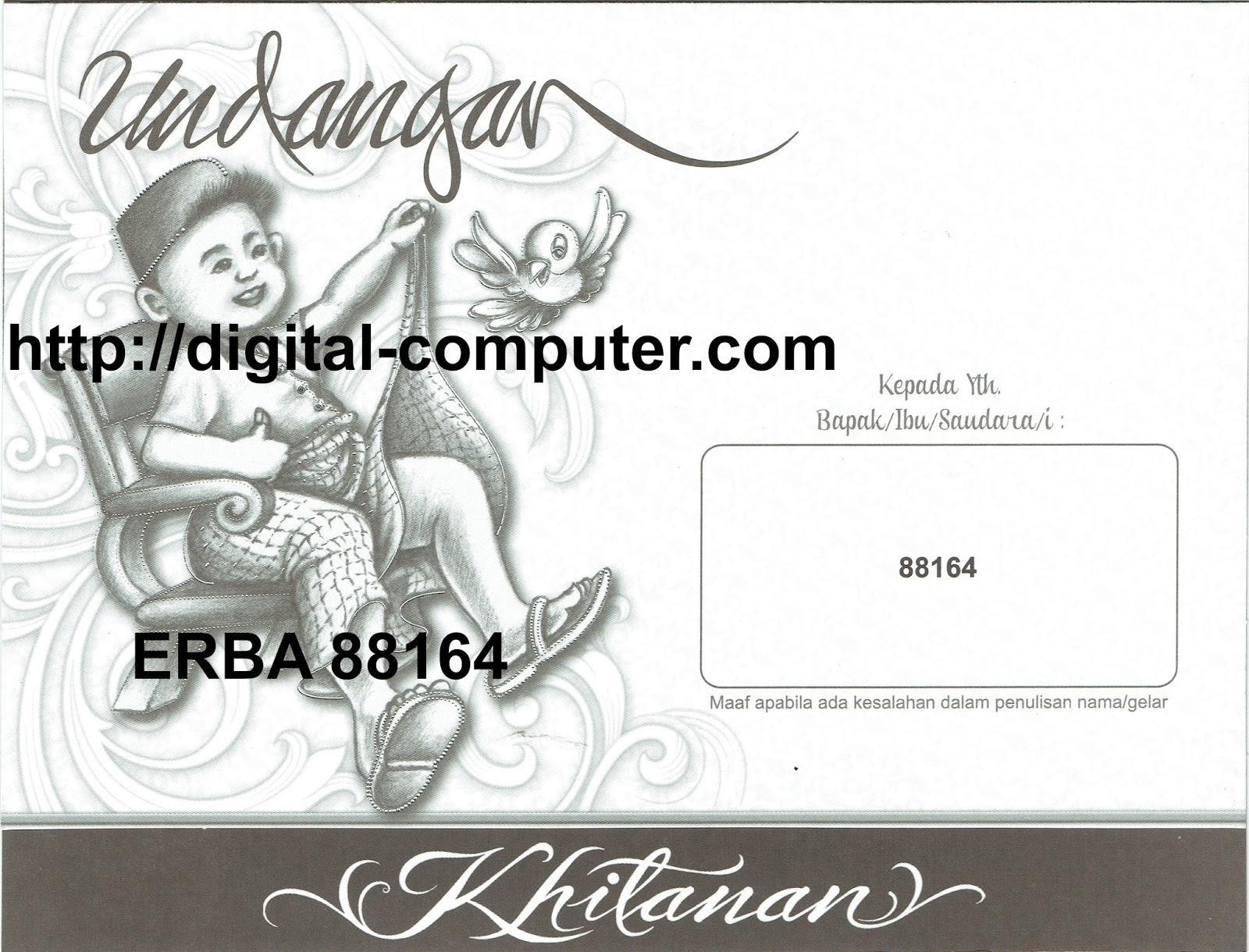 Undangan Softcover ERBA 88164