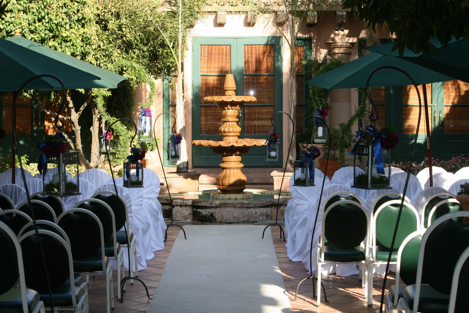 We Traveled Out To Harris Ranch For Their Wedding And Reception Seen Here In The Courtyard