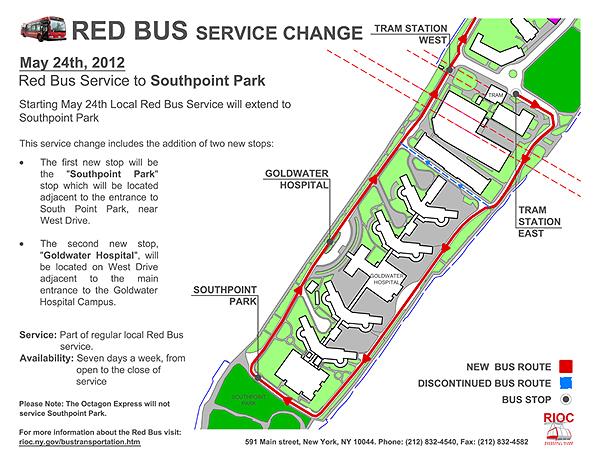 Roosevelt Islander Online Roosevelt Island Red Bus