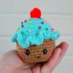 patron gratis cupcake amigurumi | free amigurumi pattern cupcake