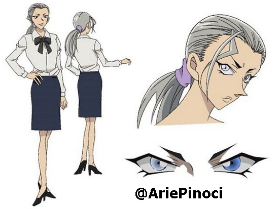 Detective Conan: The Darkest Nightmare - Odd Eyes Character