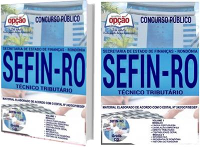 Apostila SEFIN-RO 2018 Técnico Tributário
