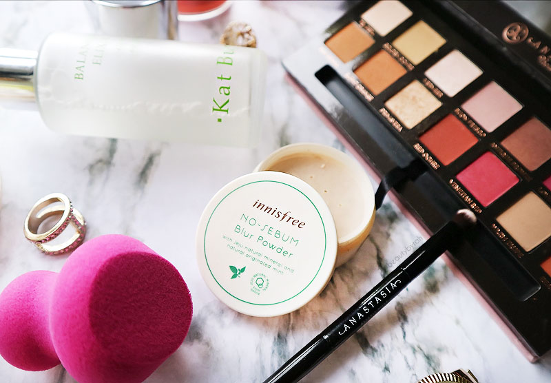 January Favourites Innis Free No Sebum Blur Powder