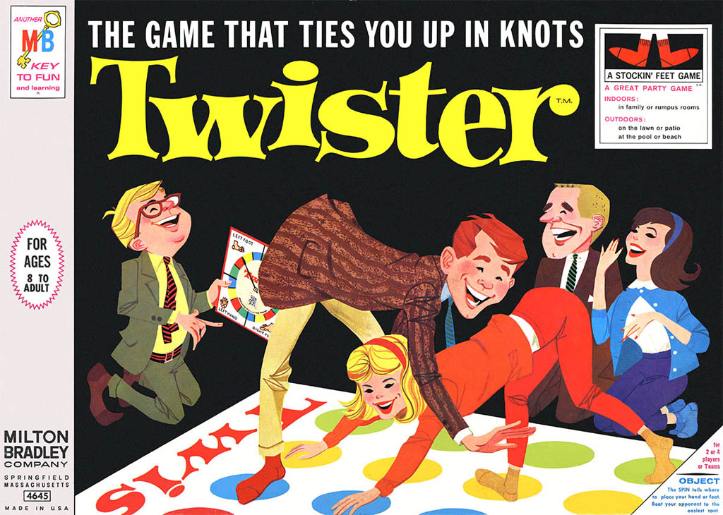 Original Twister Game