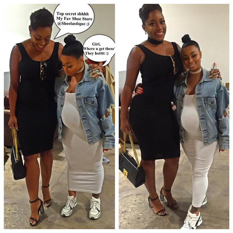 Nigerian fashion designer Lilian Unachukwu makes Blac Chyna look REALLY short