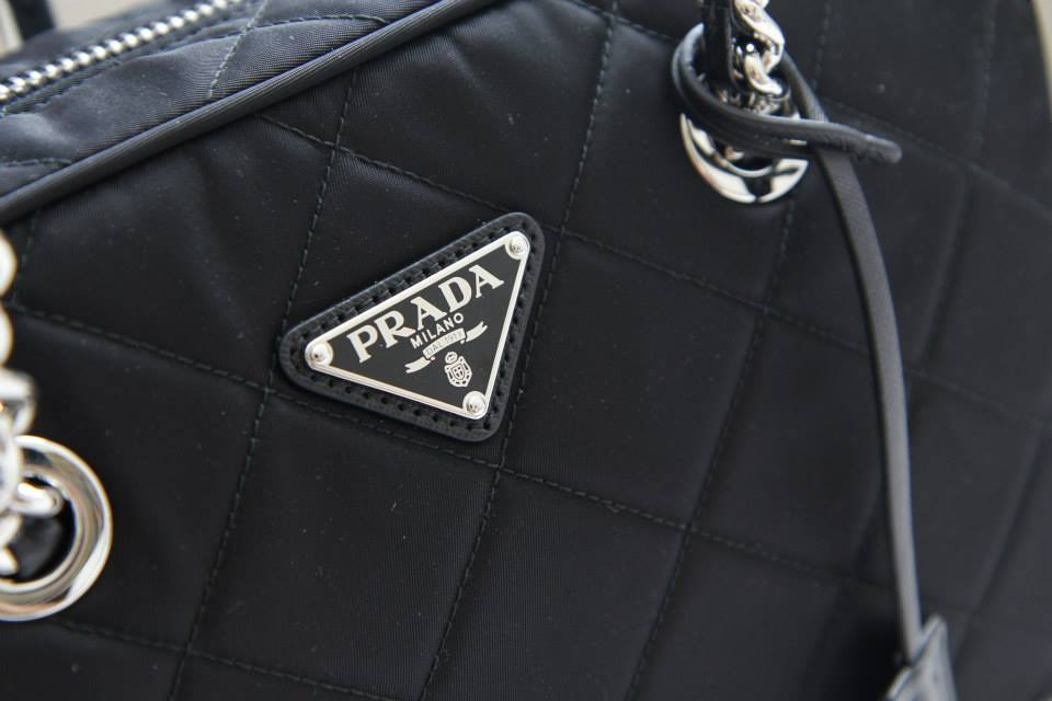 8e65468df2 ... best price prada bl0903 tessuto impuntu quilted bag nero 2a746 b3b30