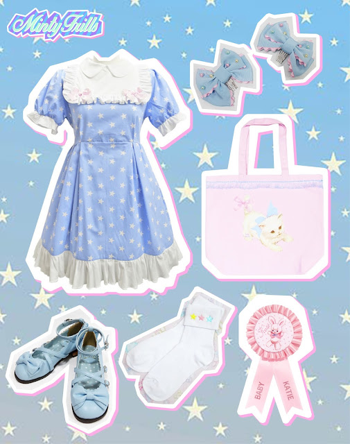 mintyfrills angelic pretty nile perch katie kawaii sweet fashion