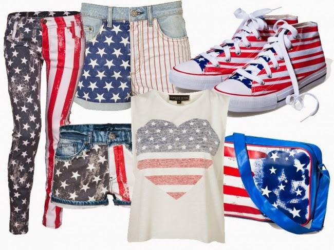 Chłodny Nasze modne MSP ♥ : Ubrania we... flagę! QN89
