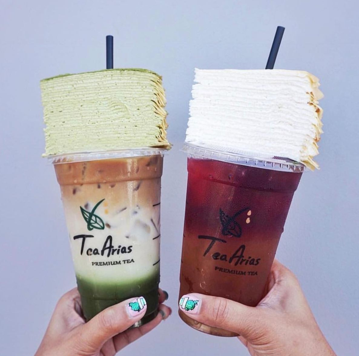 9/29 - 10/1 | Get A Slice Of Mille Crepe and Your Favorite Tea Arias Drink For Just $6