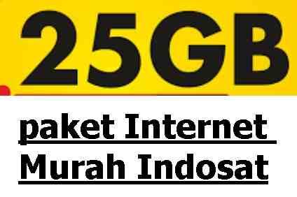 Cara Mengaktifkan Paket Internet Indosat Murah Kuota 25gb Harga Rp50