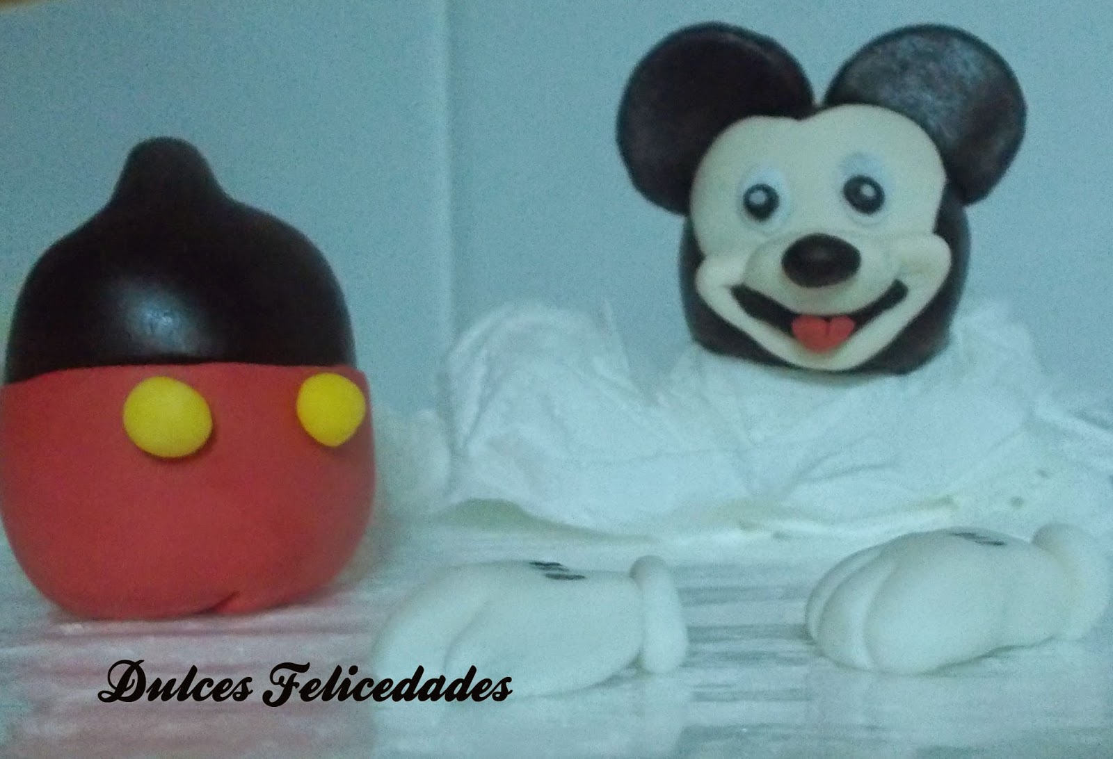 Modelado Mickey Mouse