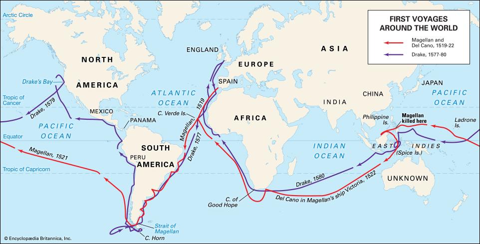 Magellan voyage
