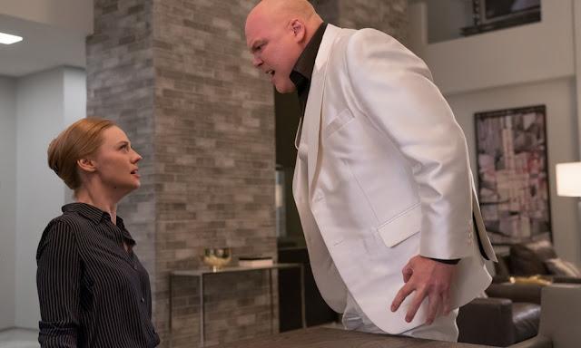 Karen y Wilton Fisk en la 3ª Temporada de 'Daredevil'