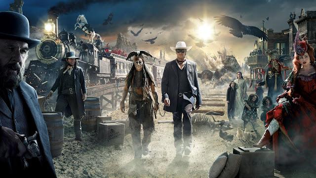 Imagen promocional de la película con los personajes principales