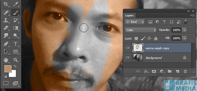 Cara Mewarnai Foto Hitam Putih Dengan Photoshop Grafis Media