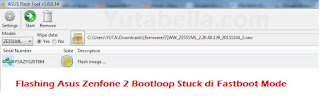 Ini ialah tips cara gampang untuk perbaikan handphone Asus Zenfone  Nih Cara Flashing Asus ZE551ML Dan Asus ZE550ML Bootloop Stuck Di Fastboot Mode