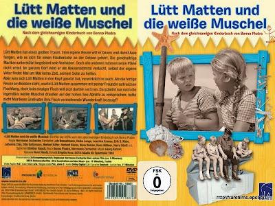 Лют Матен и белая ракушка / Lütt Matten und die weiße Muschel. 1964.